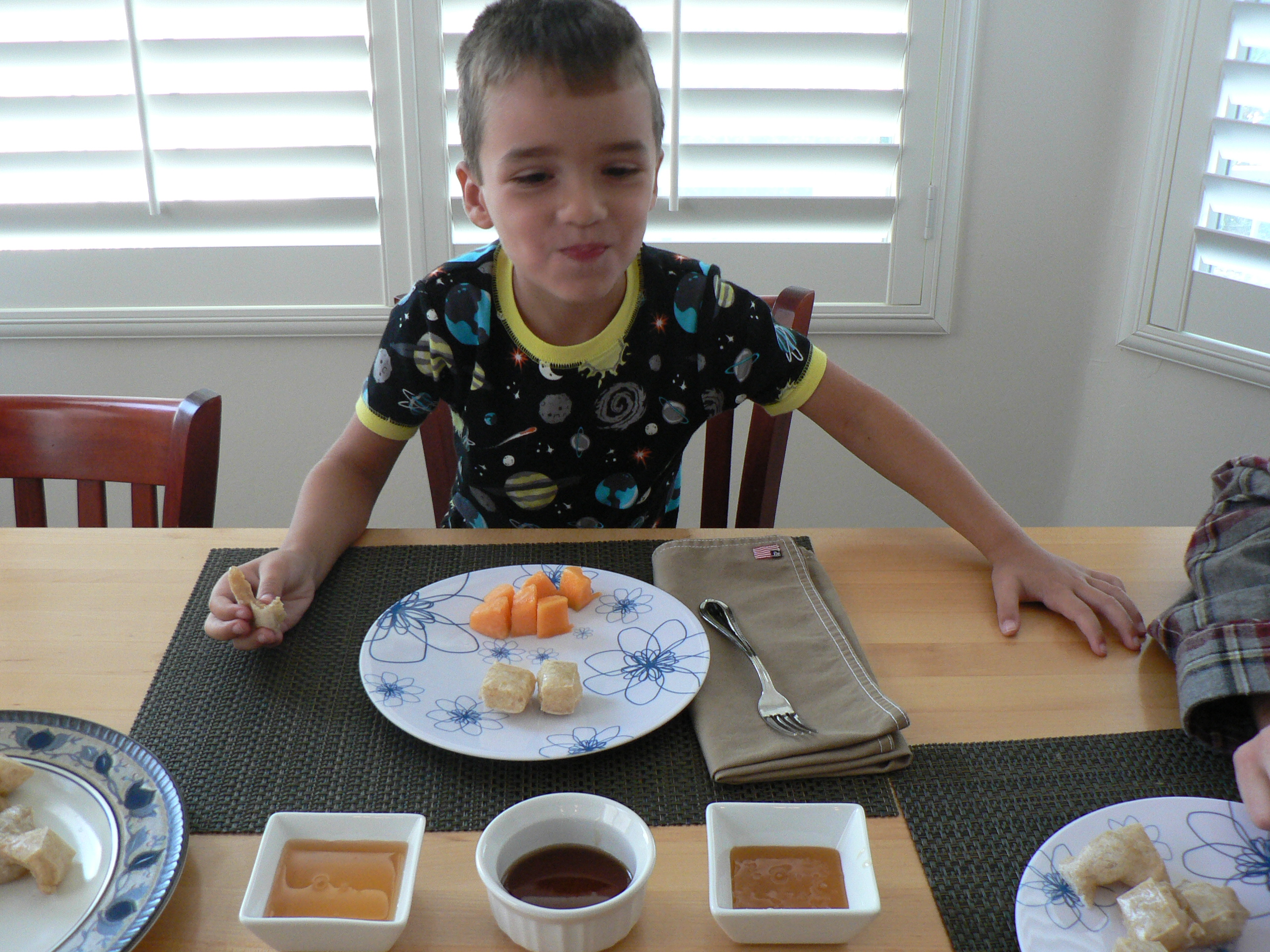 Kids Love Mochi for Breakfast!